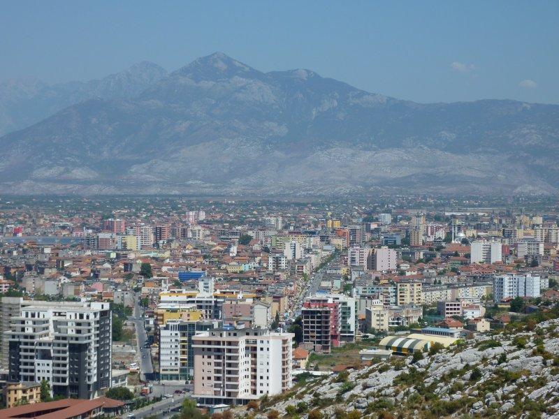 Shkodra skyline