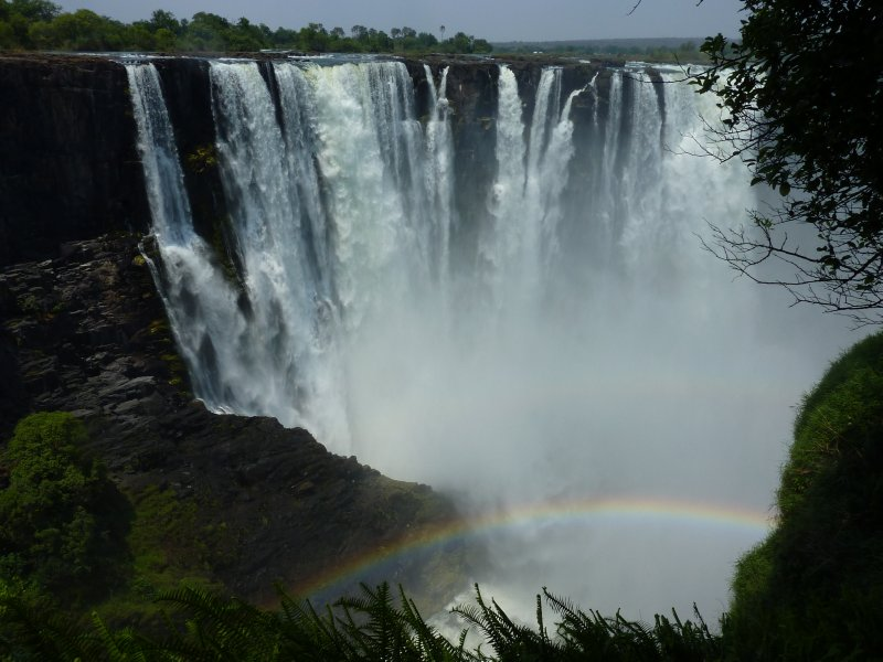 Victoria Falls Rainbow, Zimbabwe