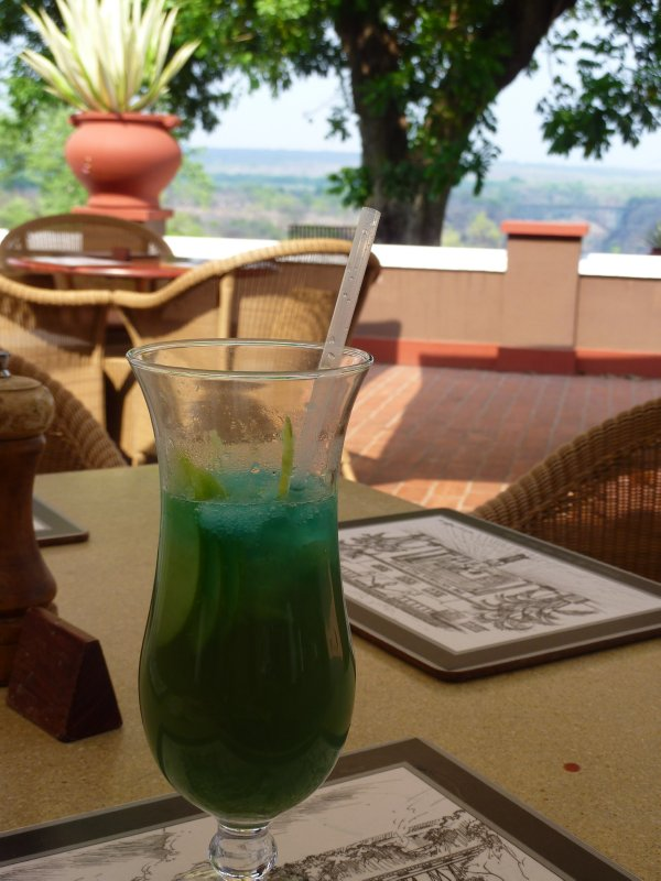 The 'I Presume' cocktail specialty, Victoria Falls Hotel
