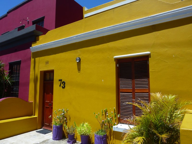 Bo Kaap houses, Cape Town