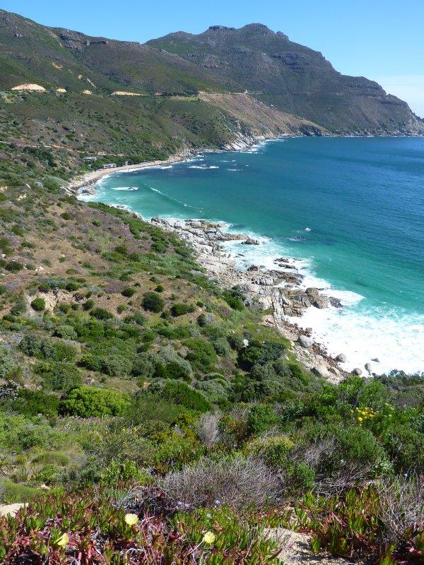 Coastal road along the Cape Peninsula