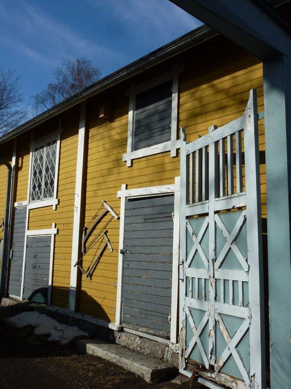 Colourfol old houses, Rauma