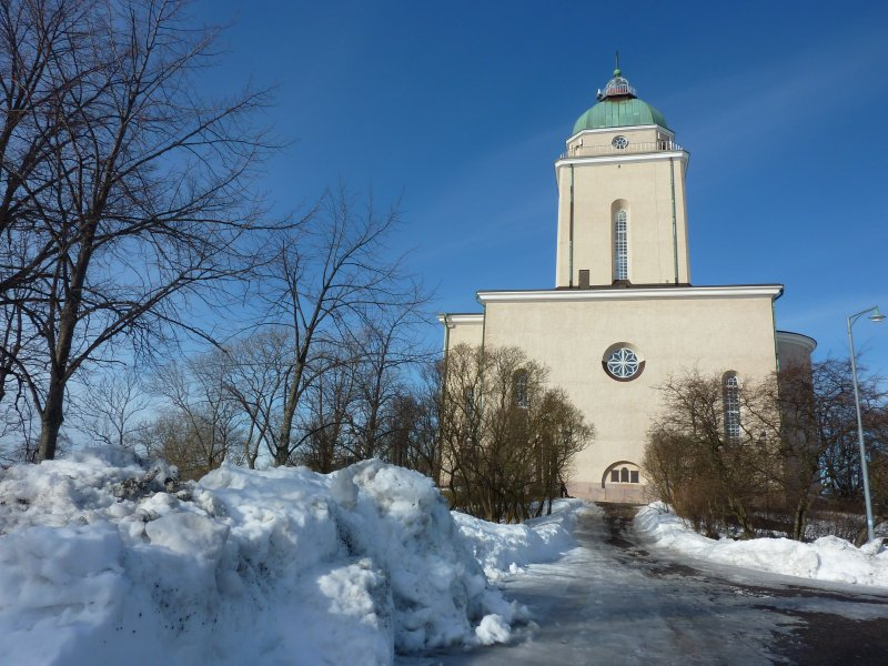 Suomenlinna church and lighthouse!