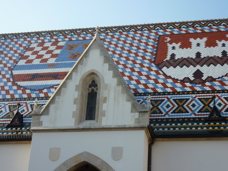 Roof of St. Mark's Church, Zagreb