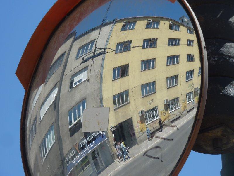 Streetscene in Sarajevo