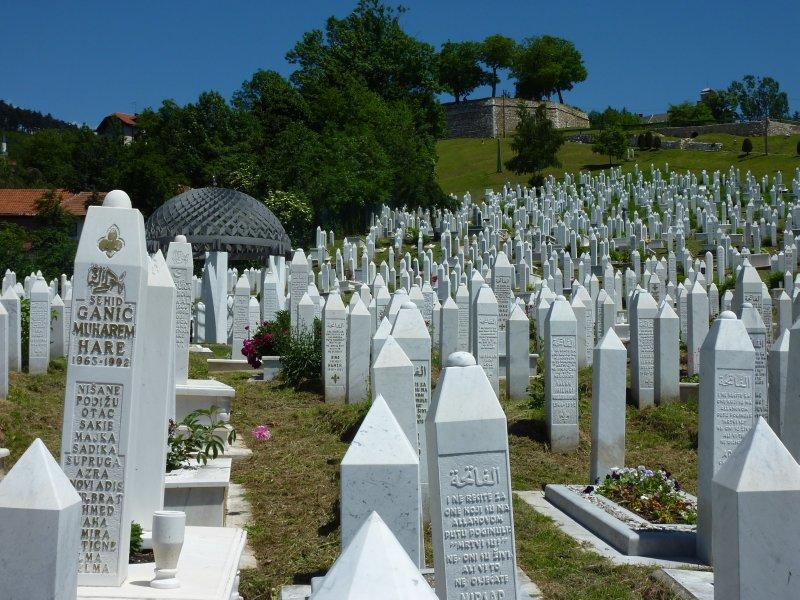 Kovaci Martyr's Cemetery, Sarajevo