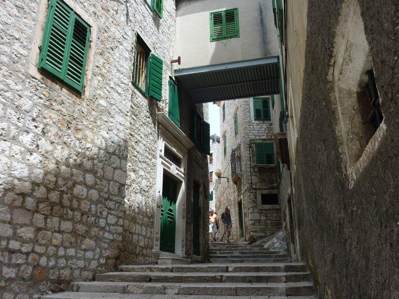 Sibenik street scene