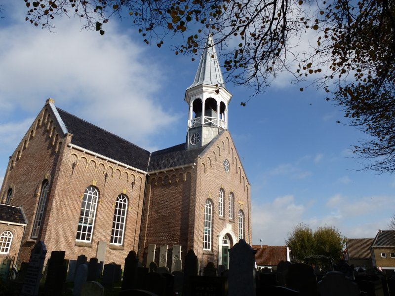 Church in Midsland, Terschelling