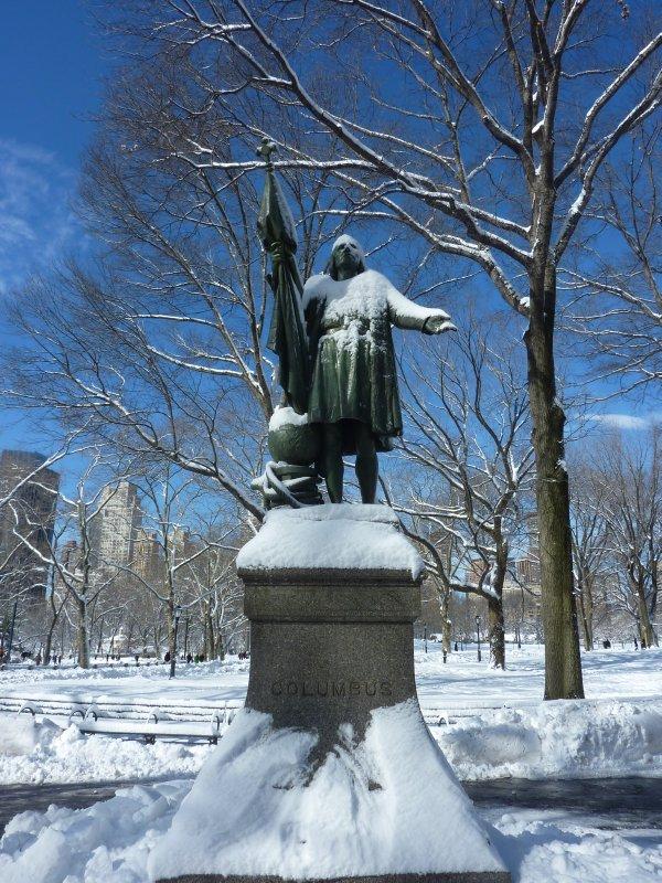 Columbus Statue, Central Park