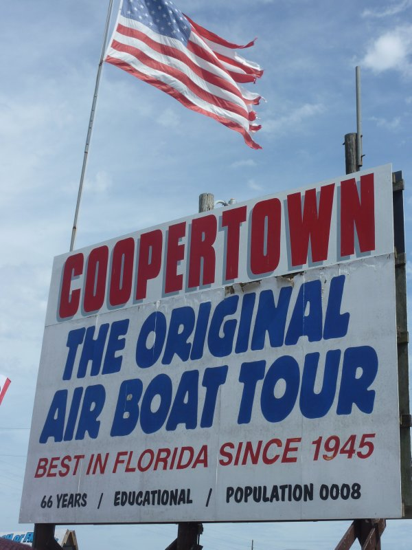 The Coopertown Airboat Ride