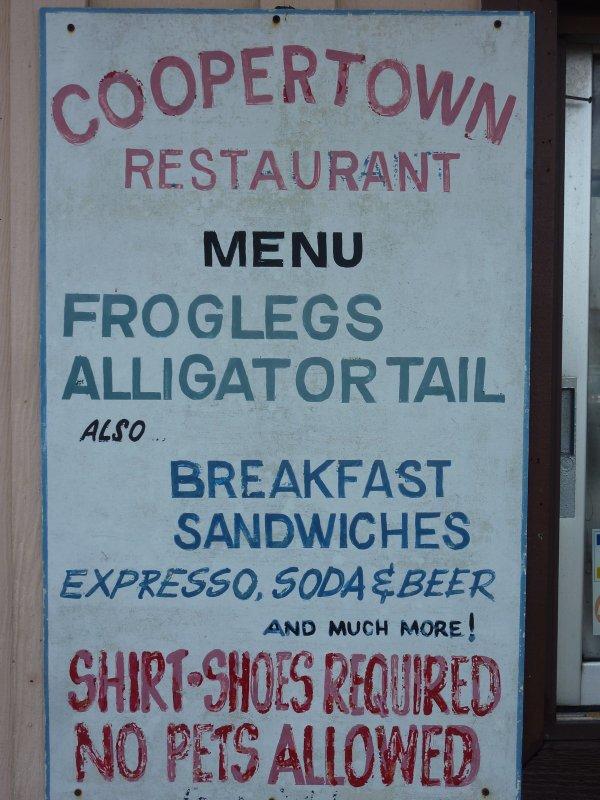Great menu!
