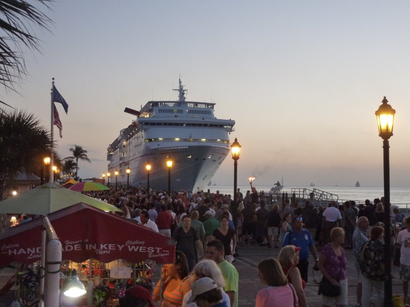 Cruiseship, Key West