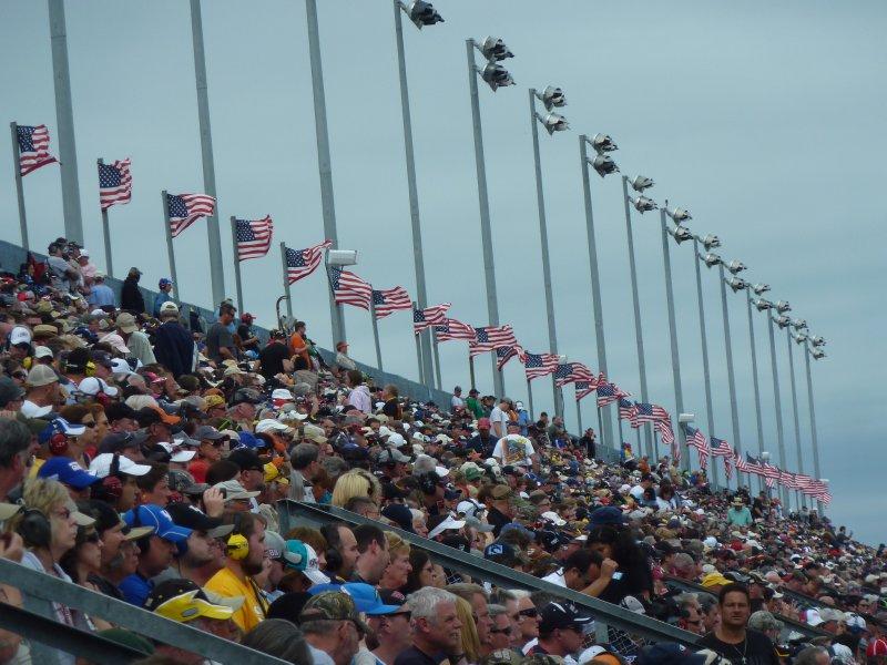 Crowds at Daytona 500
