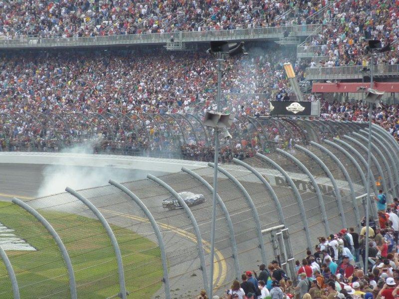 Jimmy Johnson wins 2013 Daytona 500