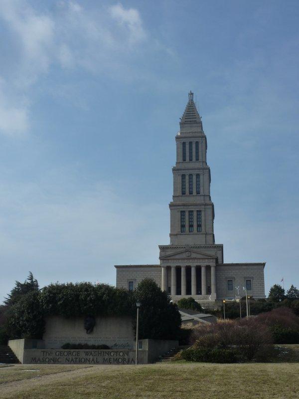 George Washington Masonic National Memorial, Alexandria, Virginia