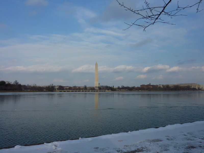 National Monument and Tidal Basin, DC