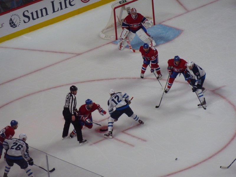 Montréal Canadiens vs. Winnipeg 4 - 3