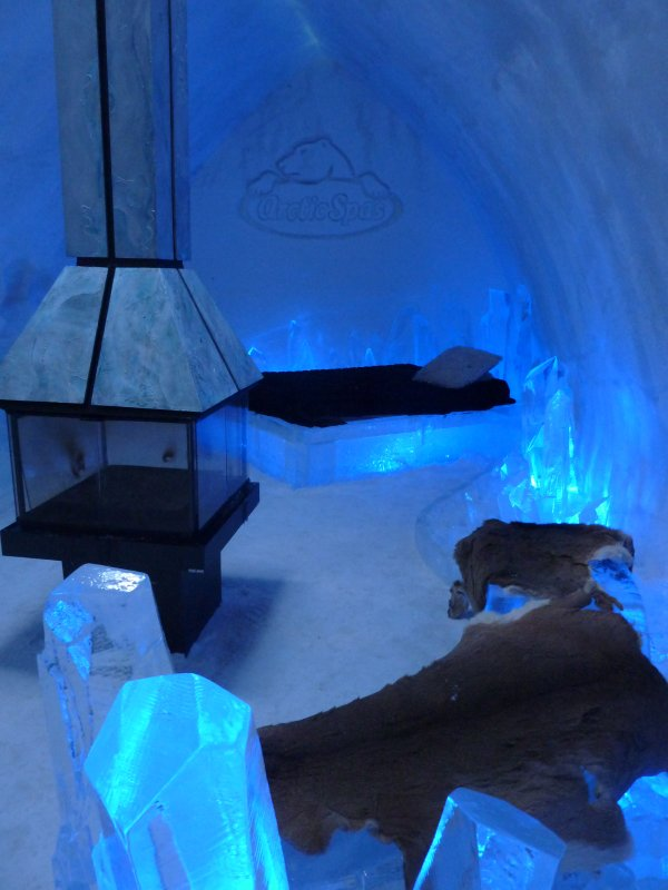 Cozy room in Ice Hotel