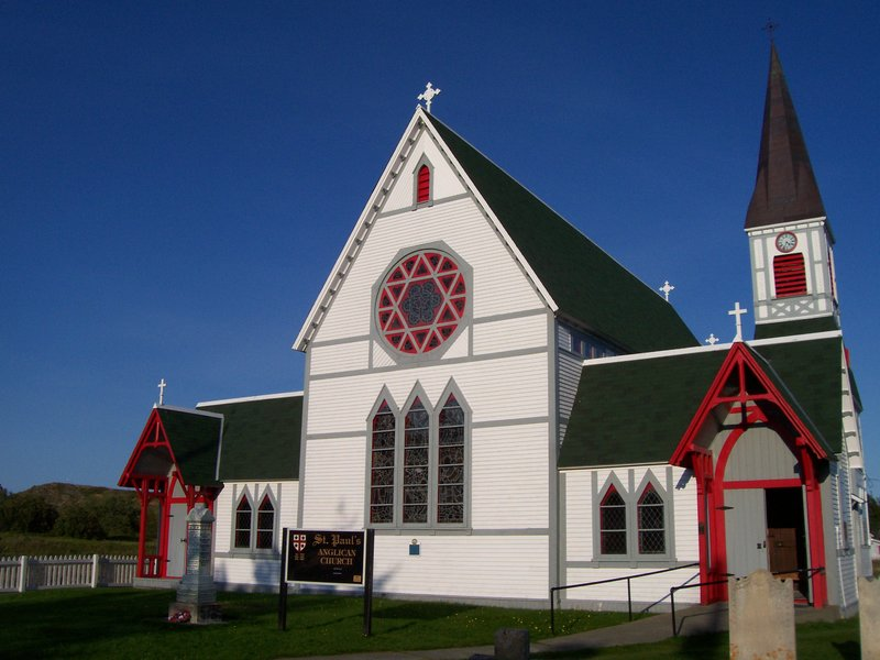 Anglican church, Trinity, Newfoundland