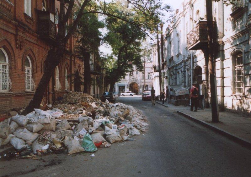 Tblisi garbage