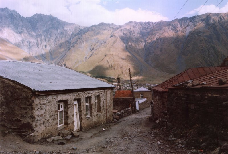 Kazbegi, Kaukasus, northern Georgia