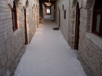 Inside a salt hotel