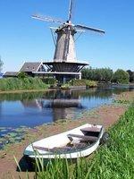 Windmill in the Alblasserwaard