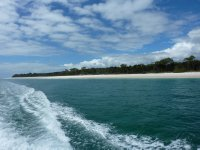 View of western side of Fraser Island