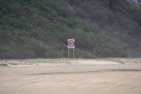 Fraser Island speed limit