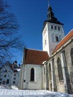 The Gothic St. Nicholas' Church, Tallinn