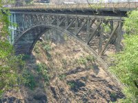 Vic Falls Bridge between Zambia and Zimbabwe