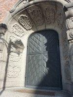 Entrance to Högalids Church