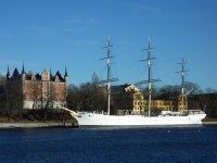 View towards Skeppsholmen