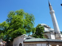 Mosque in old Sarajevo