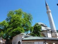 Mosque in old Sarajevo