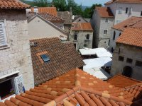 Trogir's red rooftops