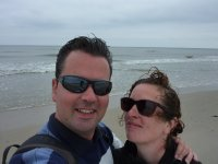 Eva and me on Vlieland