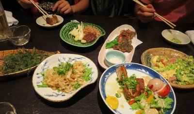 We went to an Okinawa style restaurant for supper.