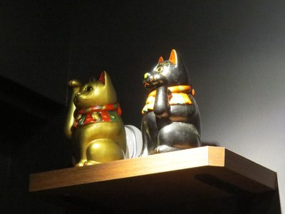 Japanese Lucky Cats (Maneki-Neko)