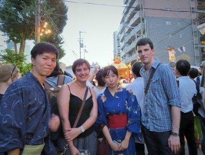 Tenjin Festival!