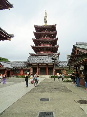 In Asakusa (the Geisha District of Tokyo)