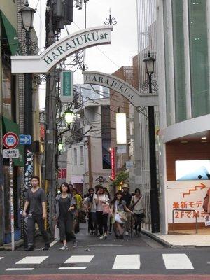 Harakuku Street.