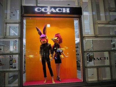 Coach store (on the shopping street between Harajuku and Shibuya).