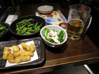 I ordered some food in Shibuya.