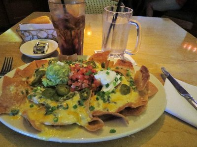 I had been craving nachos for over a month... these were soo delicious.