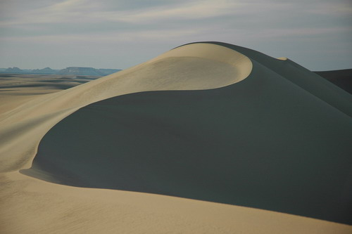Sand dune, Great Sand Sea
