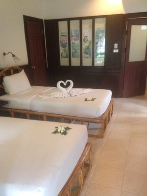 Our hotel room in Koh Samui