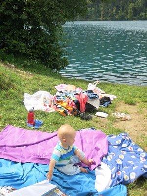 Our picnic spot