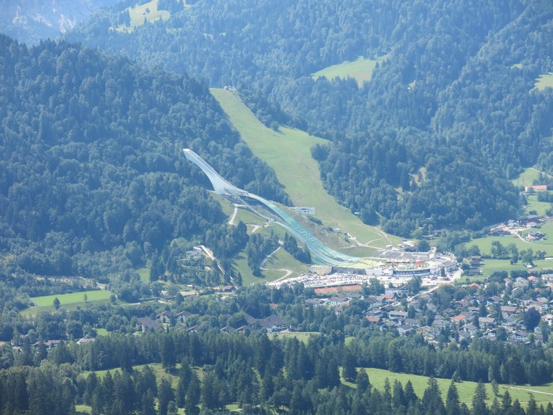 The Olympic ski jump
