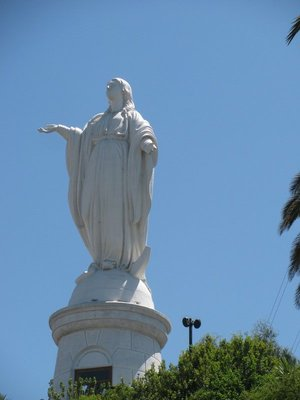 Virgin in Santiago